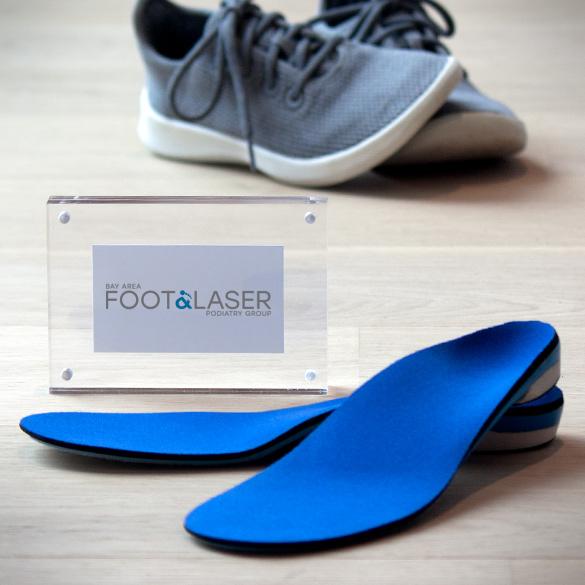 Custom orthotics from Bay Area Foot & Laser Podiatry Group