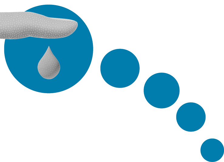 custom symbol for diabetes in feet